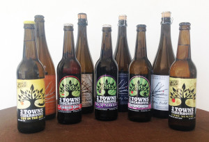 2 Towns ciders