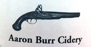 Aaron Burr label