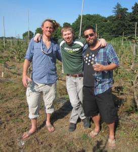 Dave Takush, Lee Larsen, & Aaron Sarnoff-Wood