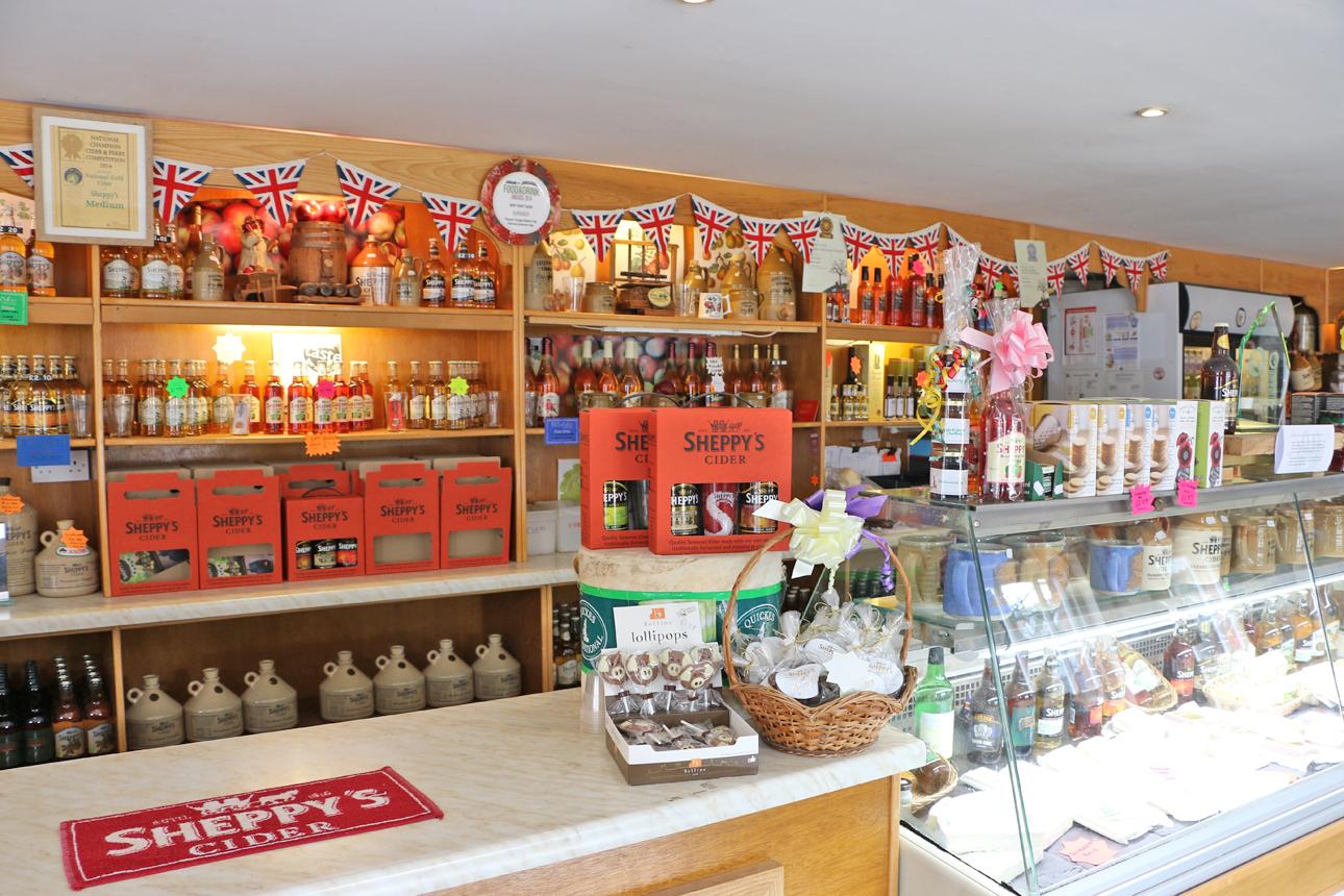 Sheppy S Cider Tea Room