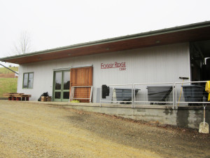 The Foggy Ridge production facility and tasting room